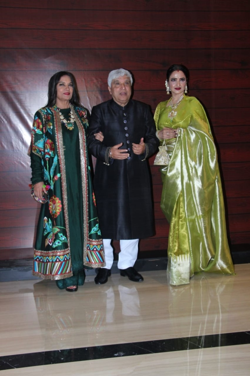 Celebs at Javed Akhtar's 75th birthday party Photos