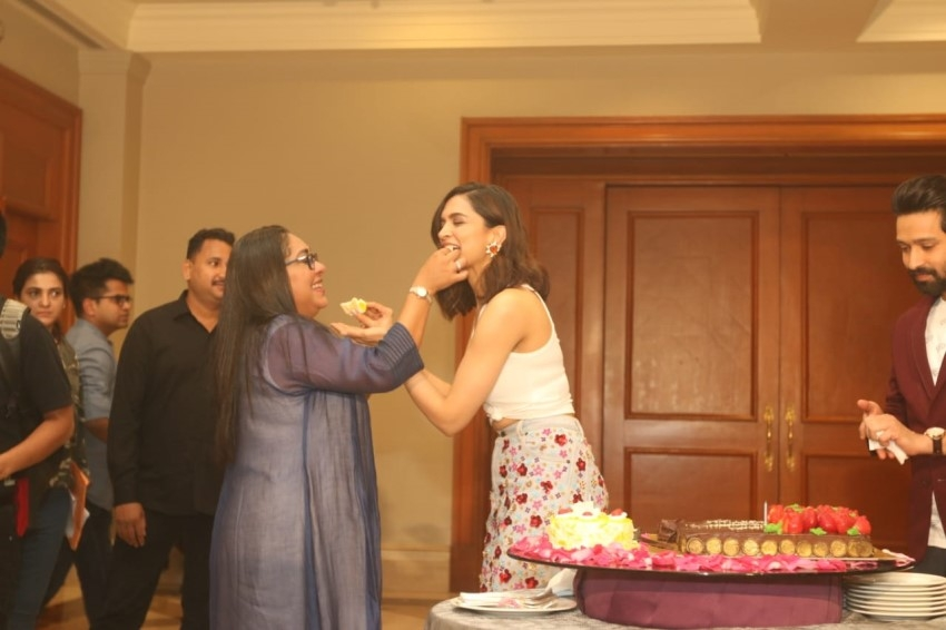 Deepika Padukone's Pre Birthday Celebrations Photos