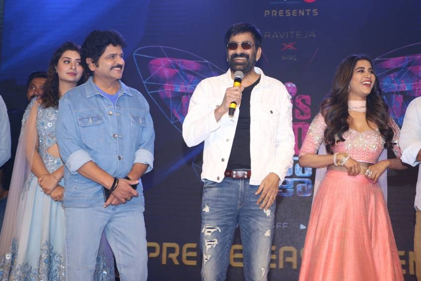 Disco Raja Pre Release Event Photos