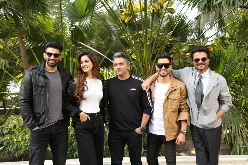 Disha Patani, Aditya Roy Kapur, Anil Kapoor & Others snapped promoting 'Malang' In New Delhi Photos