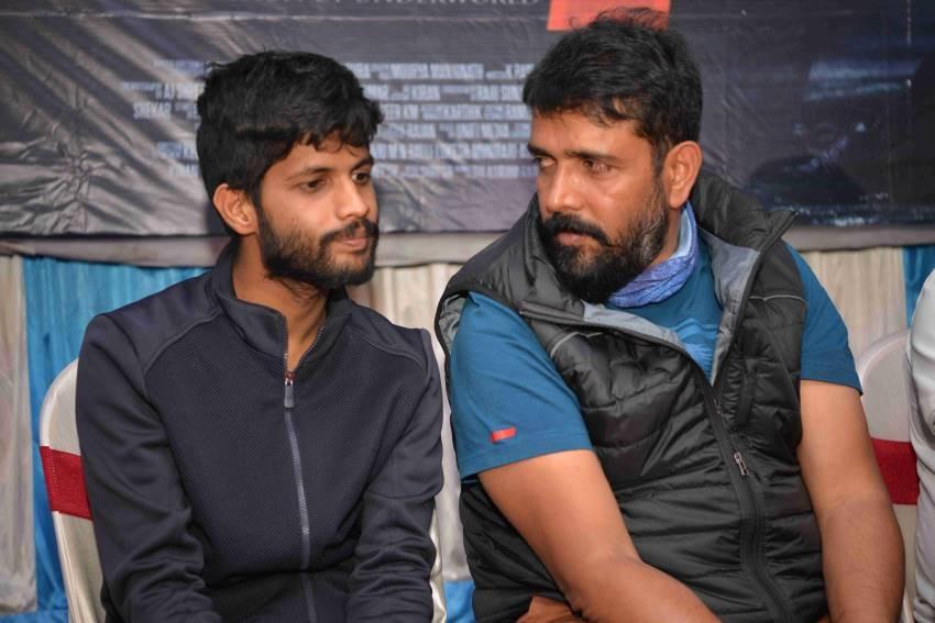 Kabja Movie Shooting Press Meet Photos