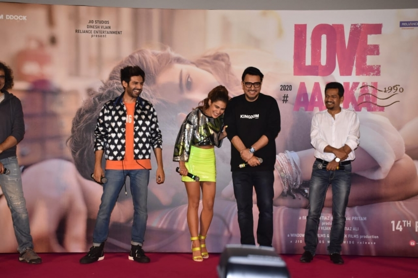 Love Aaj Kal Trailer Launch Photos