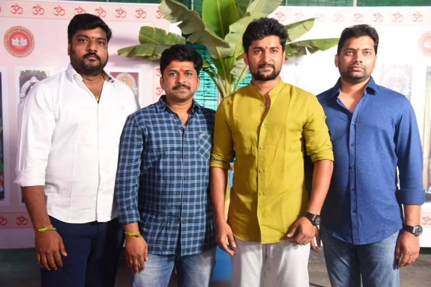 Nani26 movie TuckJagadish  Pooja Photos