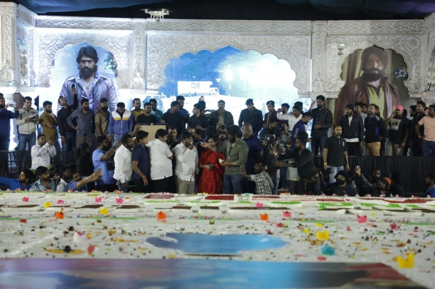 Rocking Star Yash 34th Birthday Celebration Photos