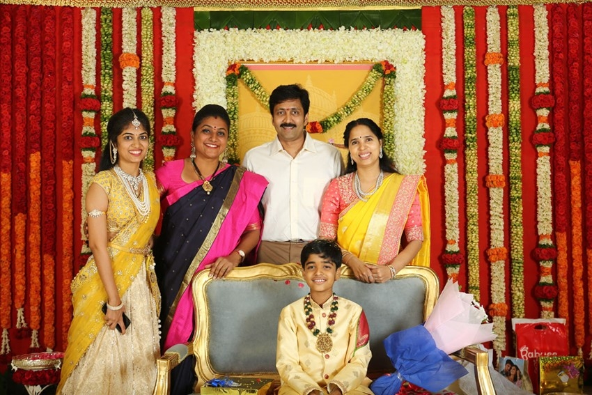 Celebs Attended Vadde Navin Son's Dhoti Function Photos