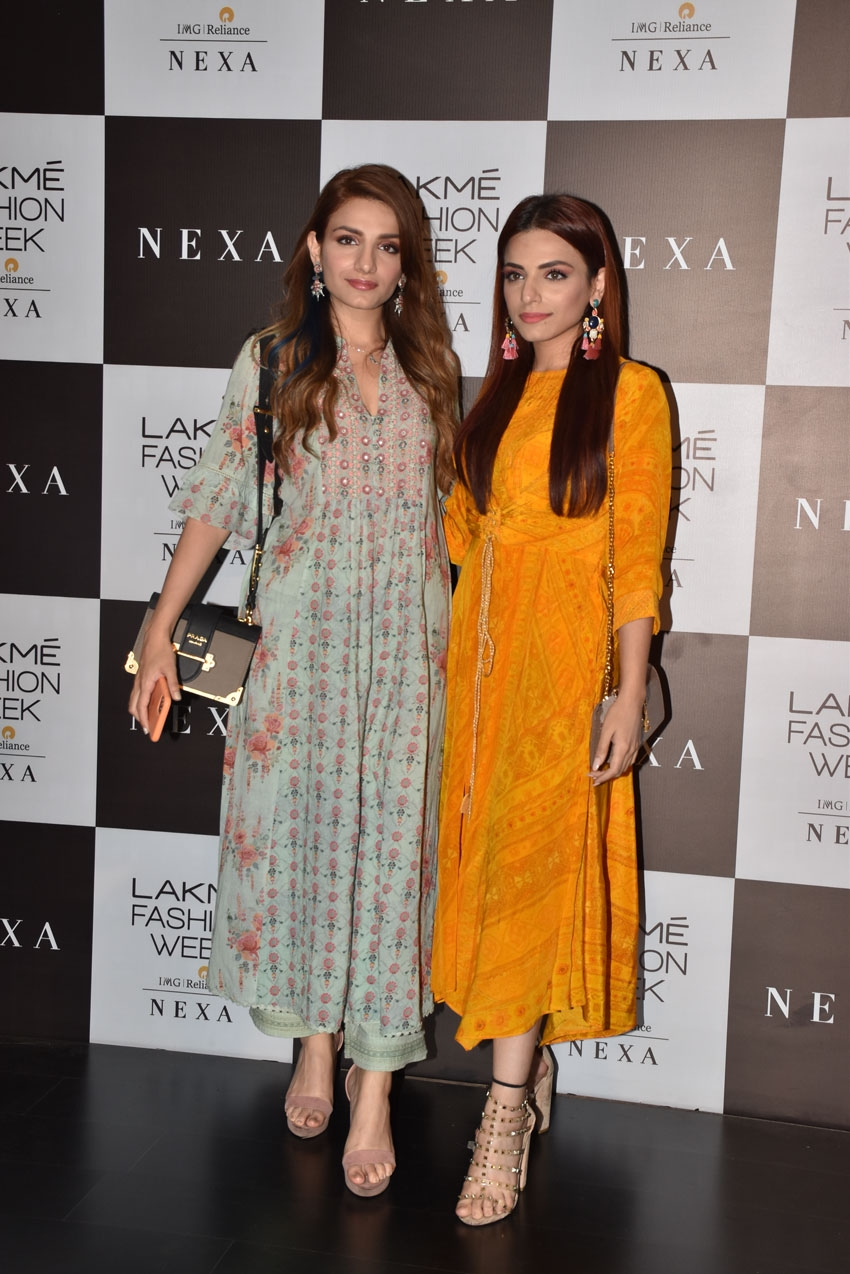 Celebs at Lakme Fashion Week Summer/Resort 2020 - Day 2 Photos