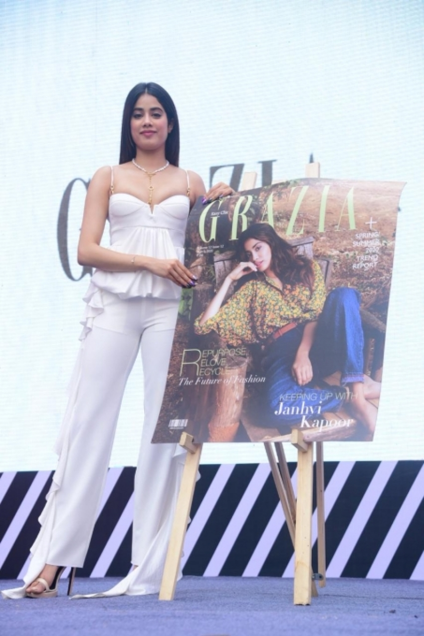Janhvi Kapoor Unveil Grazia Magazine Cover March 2020 Photos