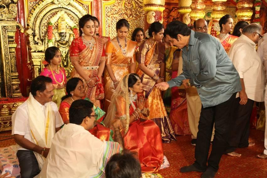Kodi Ramakrishna Daughter Pravallika Wedding Photos