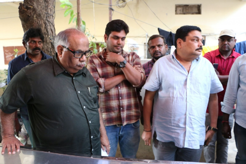 Mega Star Chiranjeevi,Condolences to Senior Film Journalist Pasupuleti Ramarao Photos