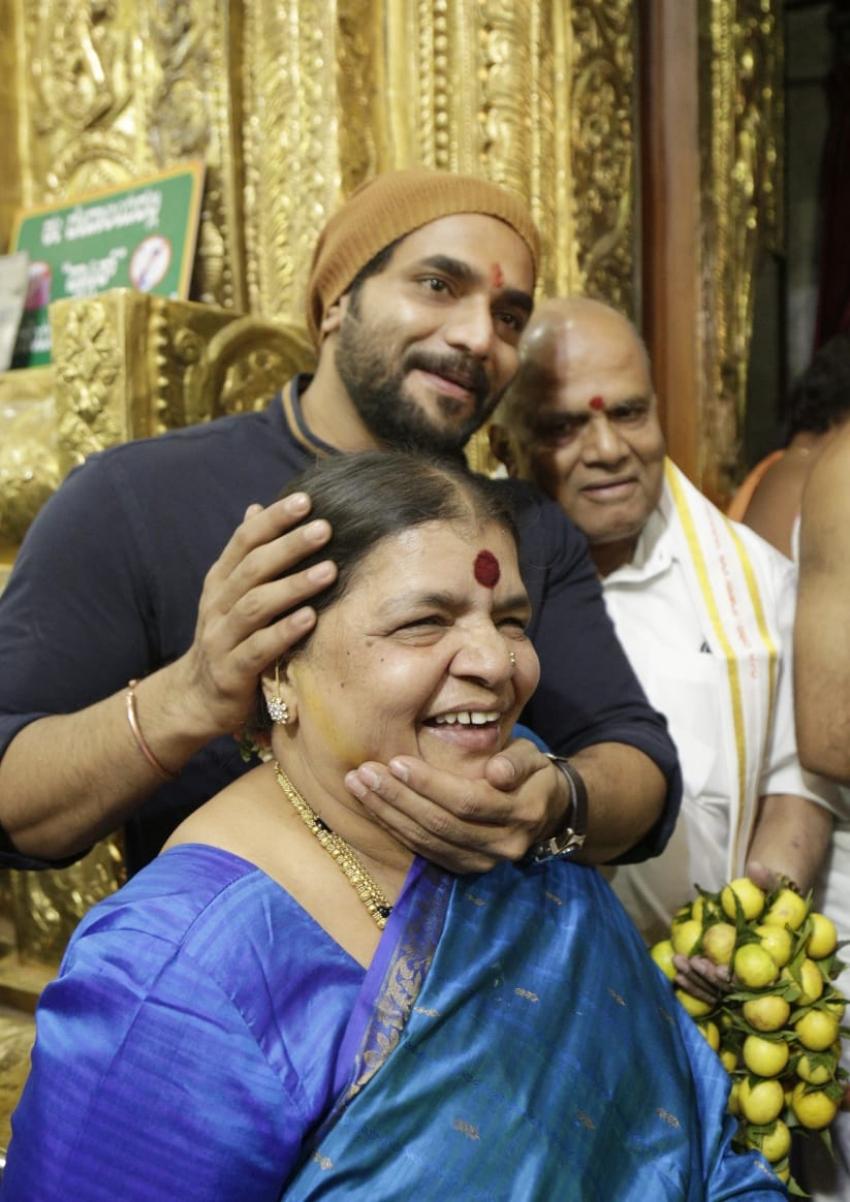 Murali's Madagaja Movie Muhurtha Photos
