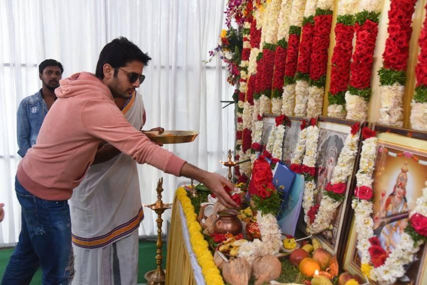 Nithiin New Movie Pooja Photos