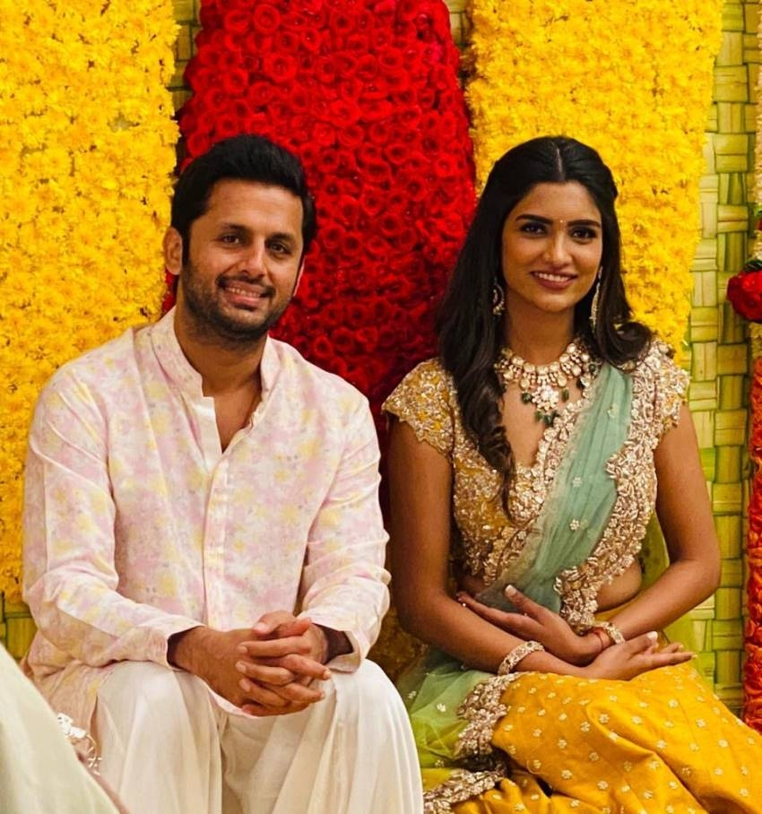 Nithin And Shalini Wedding Photos