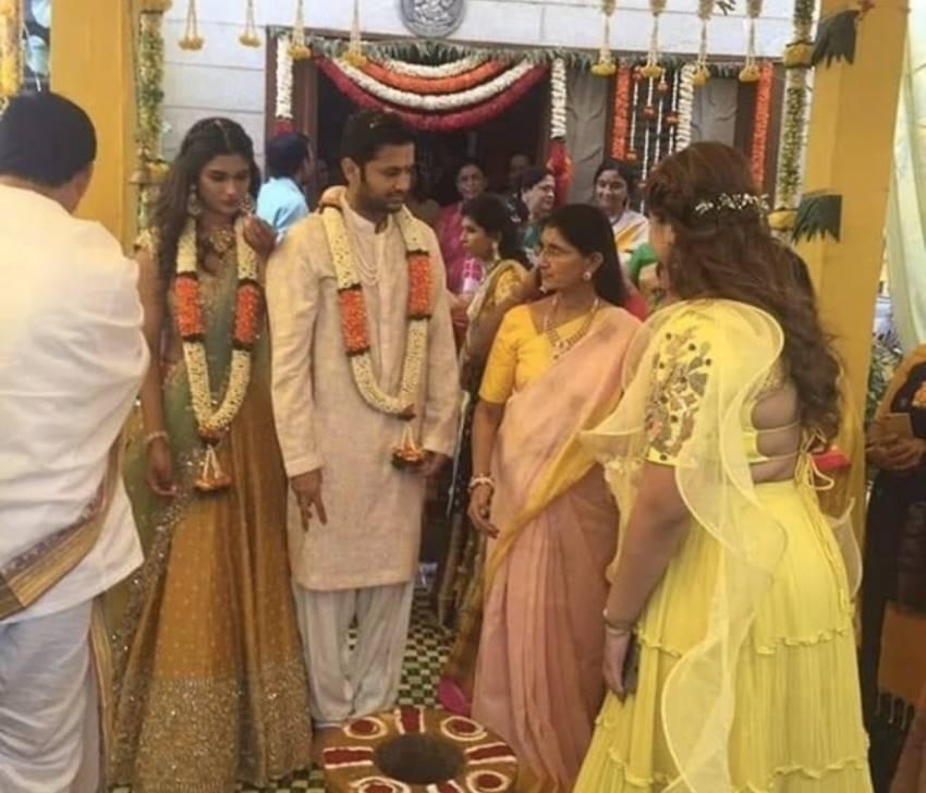 Nithin And Shalini Wedding Photos