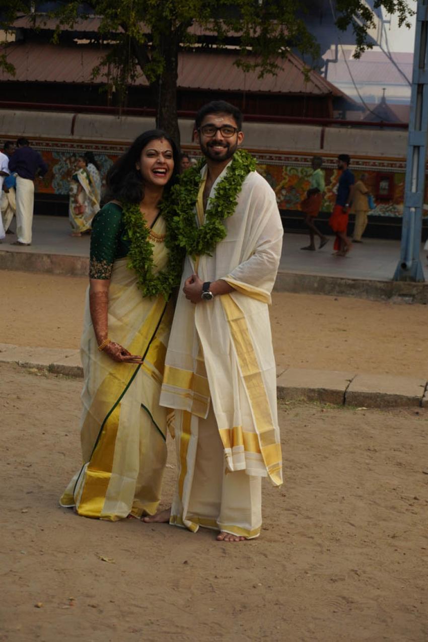 Parvathy Nambiar & Vineeth Kumar Wedding Photos