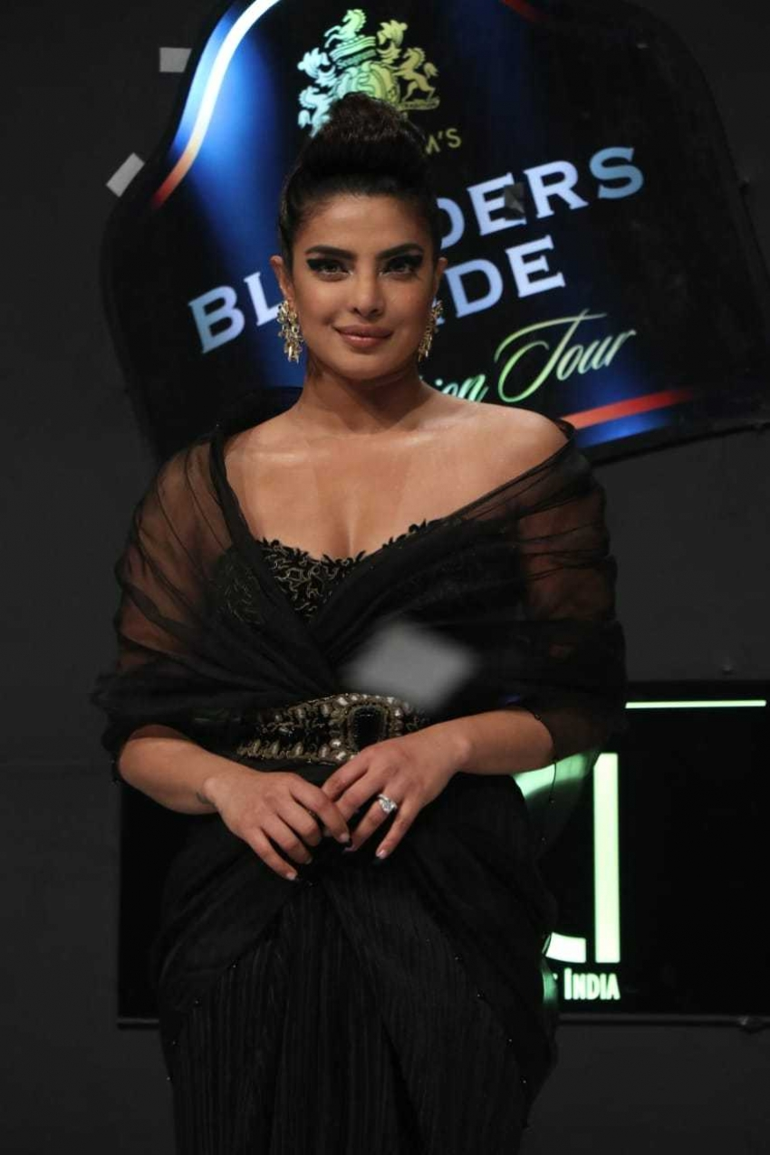 Priyanka Chopra At Blenders Pride Fashion Tour 2020 Photos