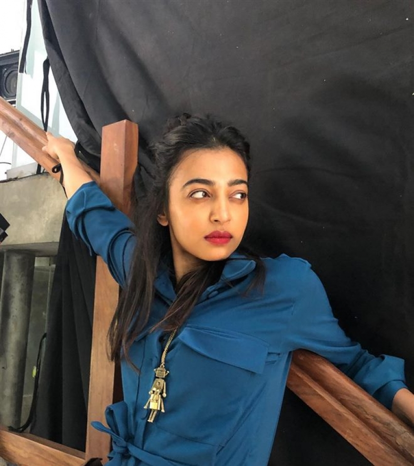 Photo of Indian Actress Radhika Apte.