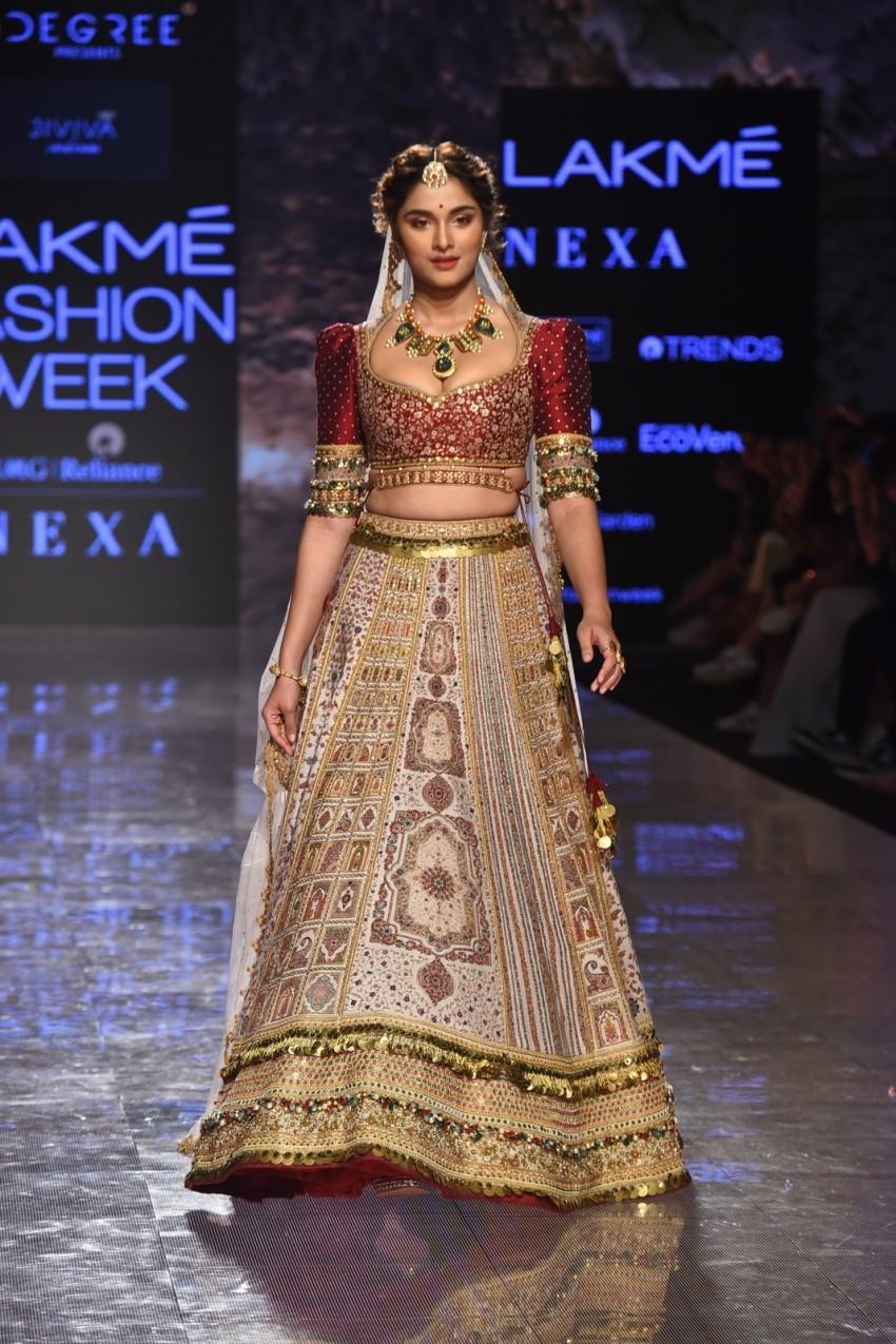 Saiee Manjrekar walks the Ramp at Lakme Fashion Week Summer/Resort 2020 Photos