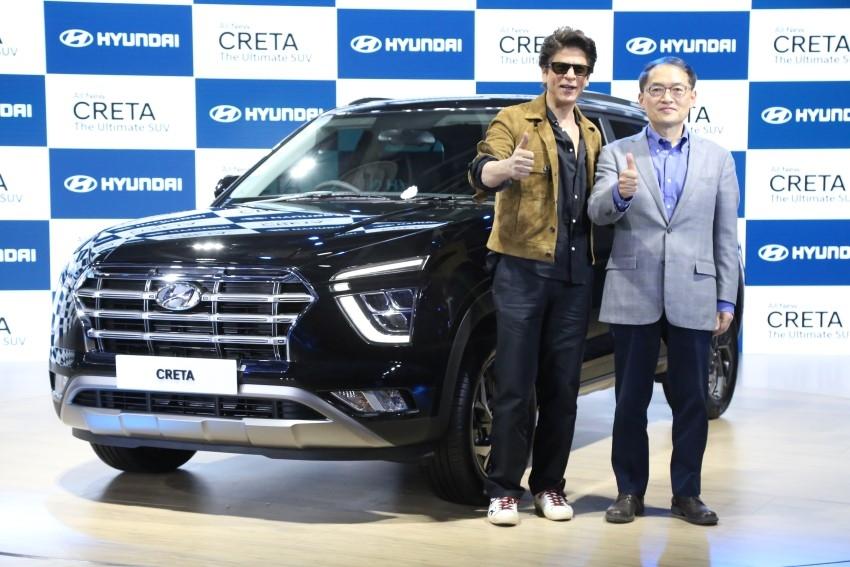 Shahrukh Khan launched Hyundai Creta at Auto Expo 2020, Noida Photos