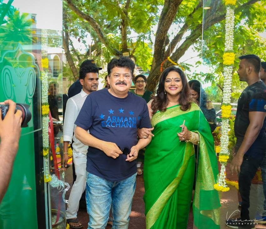 Shruthi Naidu New Hotel In Mysore Photos