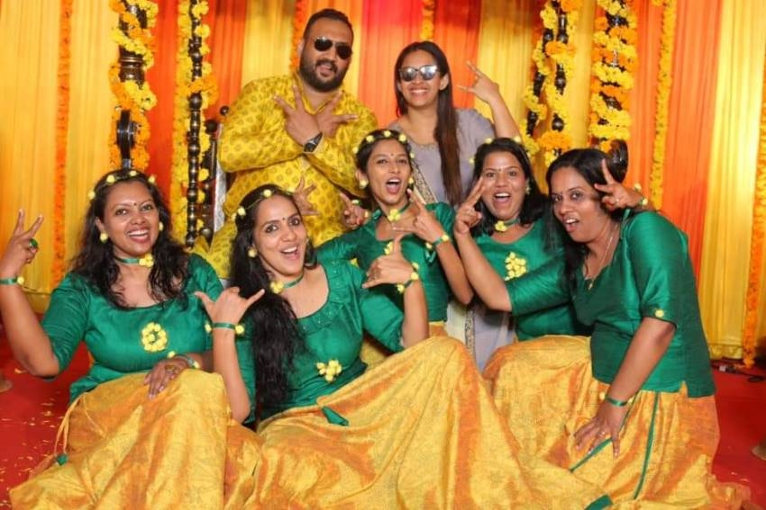 Sowbhagya Venkitesh Haldi Ceremony Photos