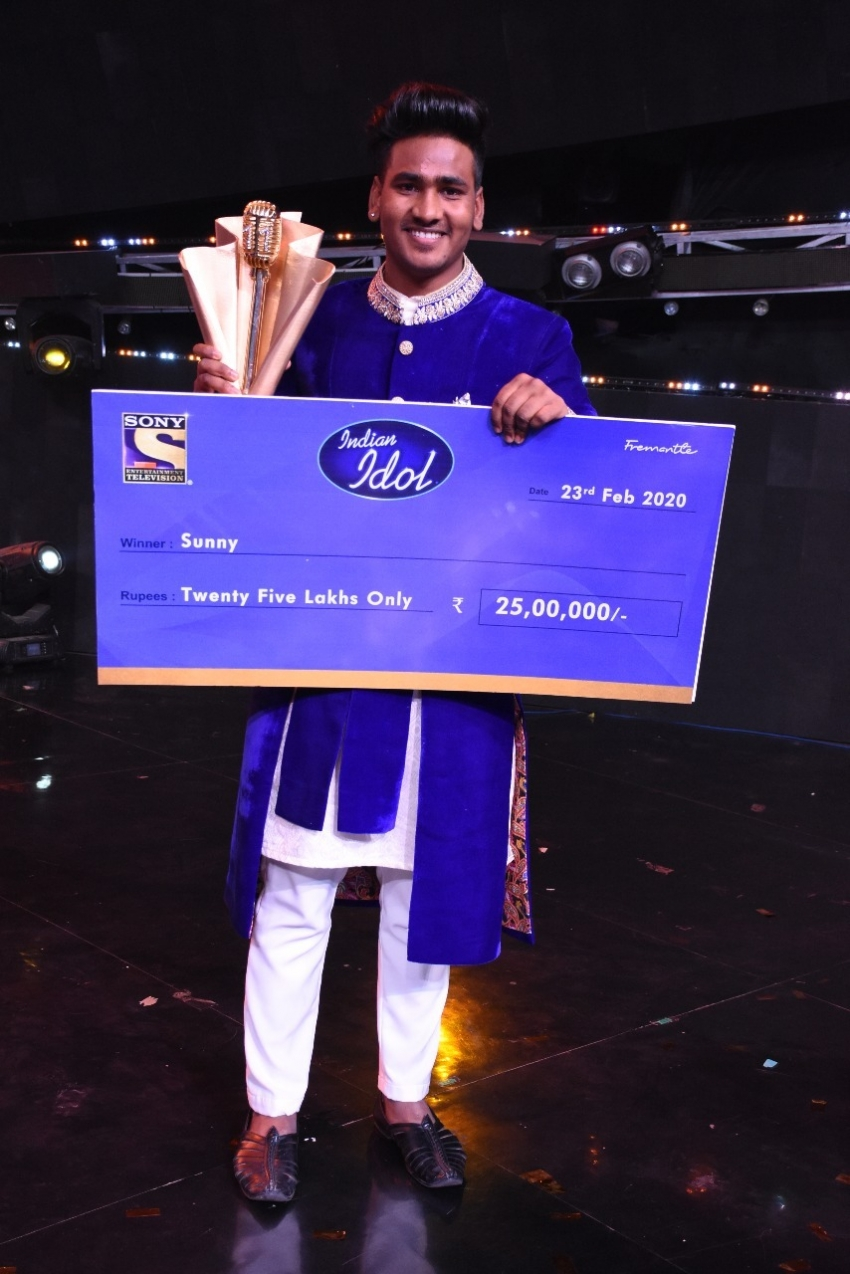 Sunny Hindustani from Bathinda  wins Indian Idol 11 Photos