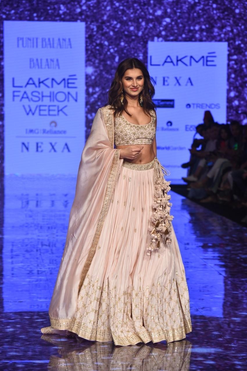 Tara Sutaria walks the Ramp at Lakme Fashion Week 2020 Photos