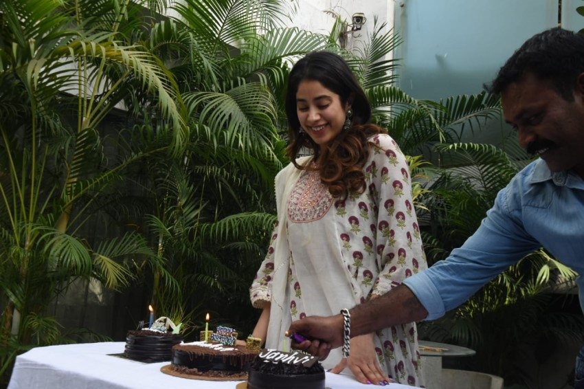 Janhvi Kapoor 23rd Birthday Celebrations Photos