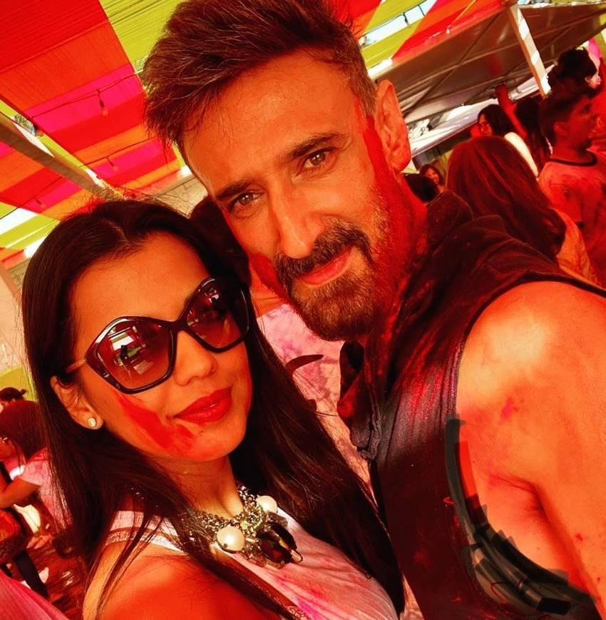 Rahul Dev And Mugdha Godse Romantic Photos