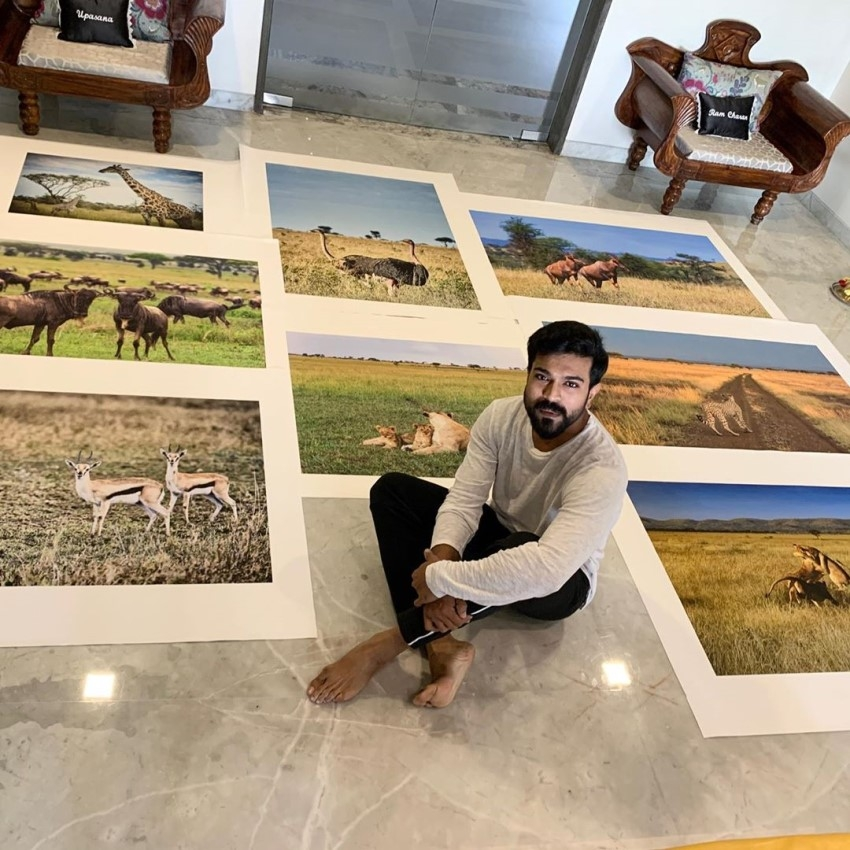 Ram Charan unseen Photos