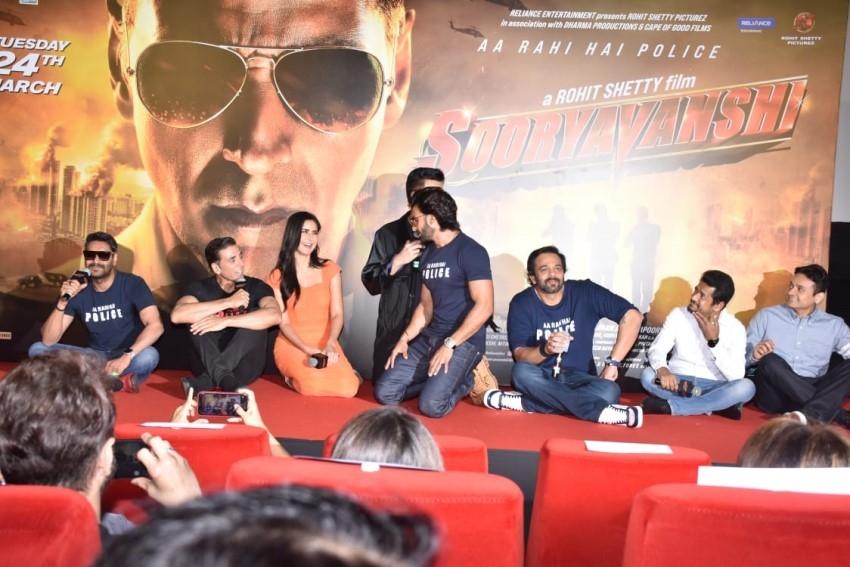 Sooryavanshi Trailer Launch Photos