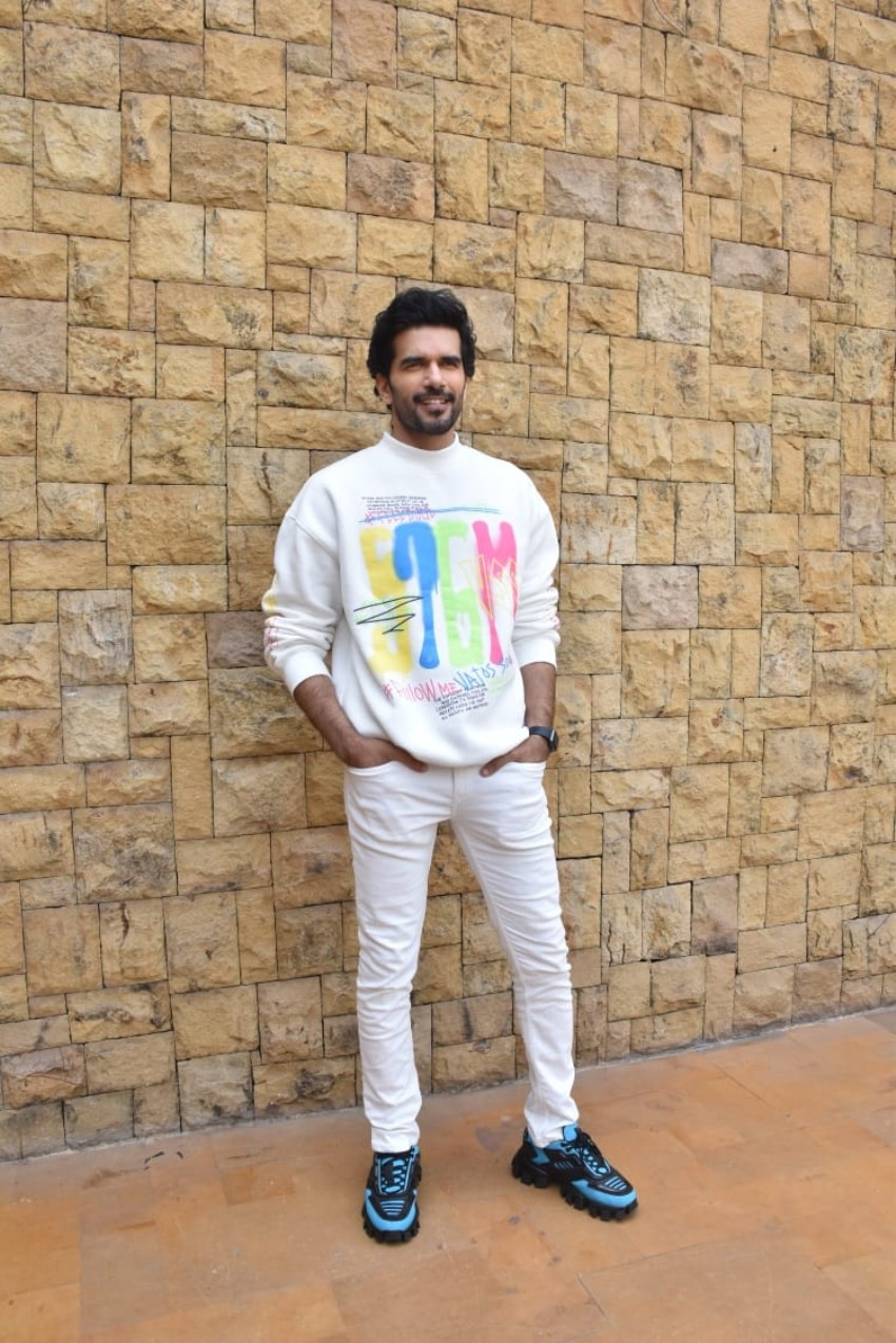 Star cast of Netflix's Guilty snapped promoting their film in Mumbai Photos