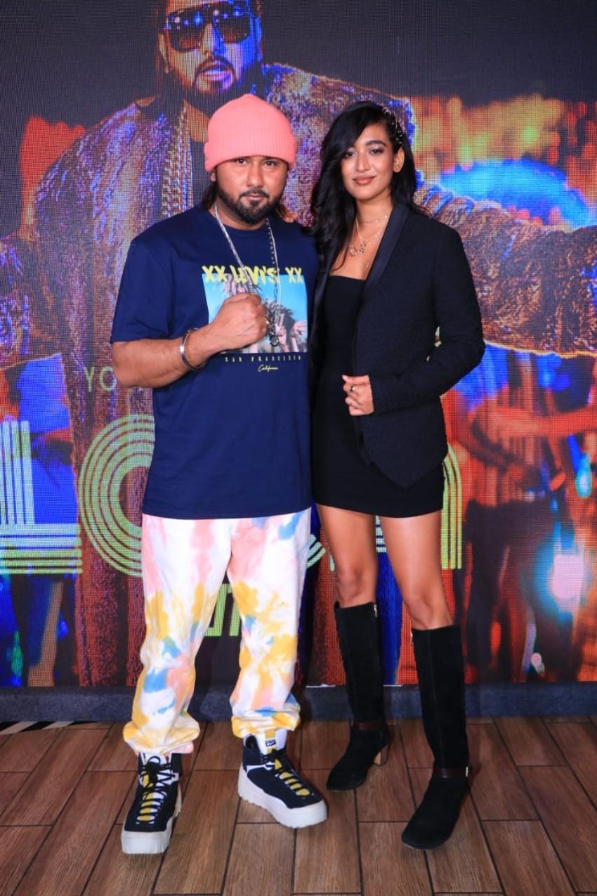 Yo Yo Honey Singh's Loca song launch Photos