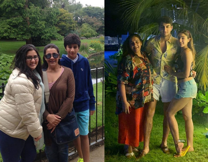 Amazing transformation pictures of Sara Ali Khan Goes viral on Internet Photos