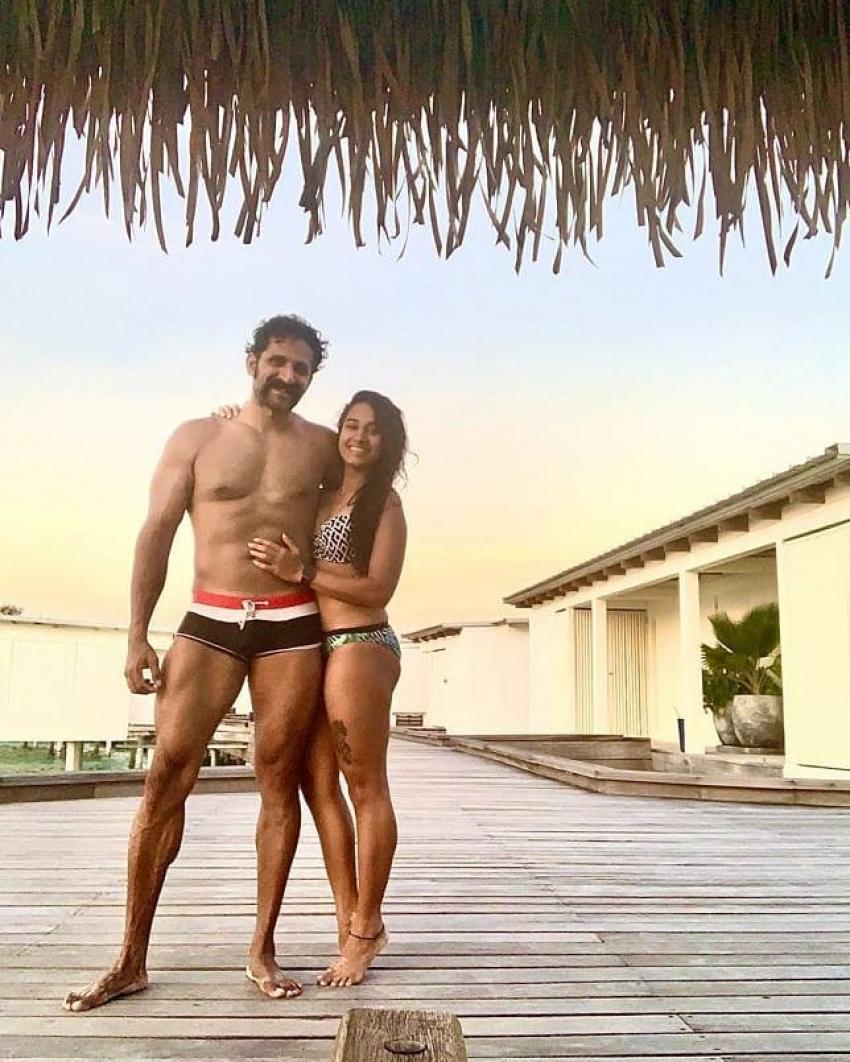 K.G.F: Chapter 1 Actor John Kokken And Pooja Ramachandran Unseen Romantic Photos