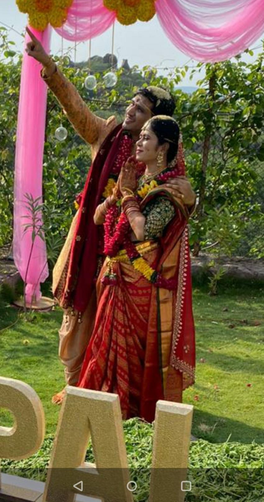 Actor Nikhil Siddharth And Pallavi Marriage Photos