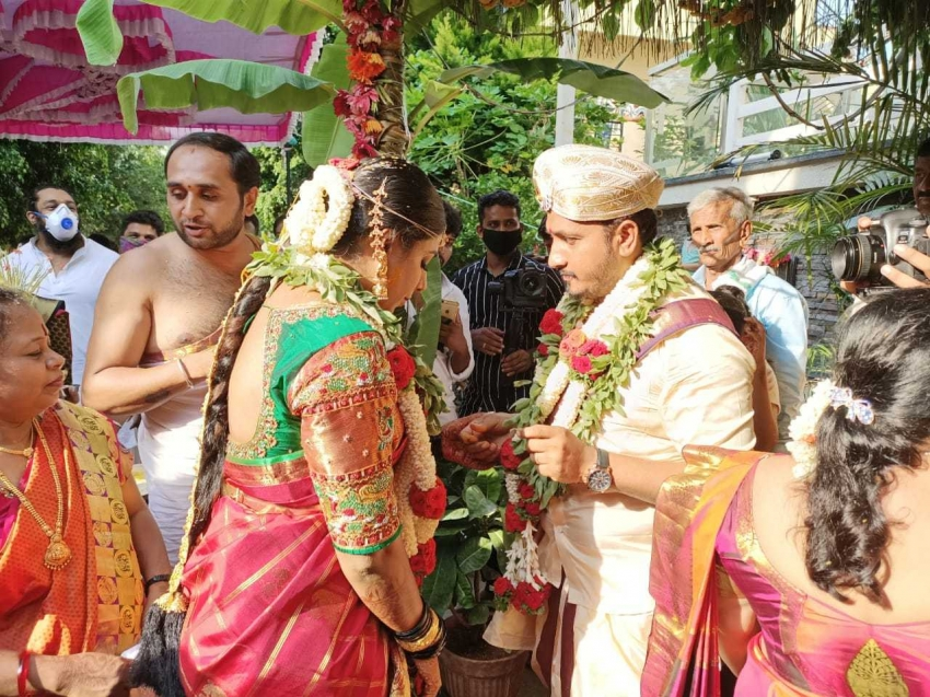 Ap.Arjun And Annapurna Wedding Photos