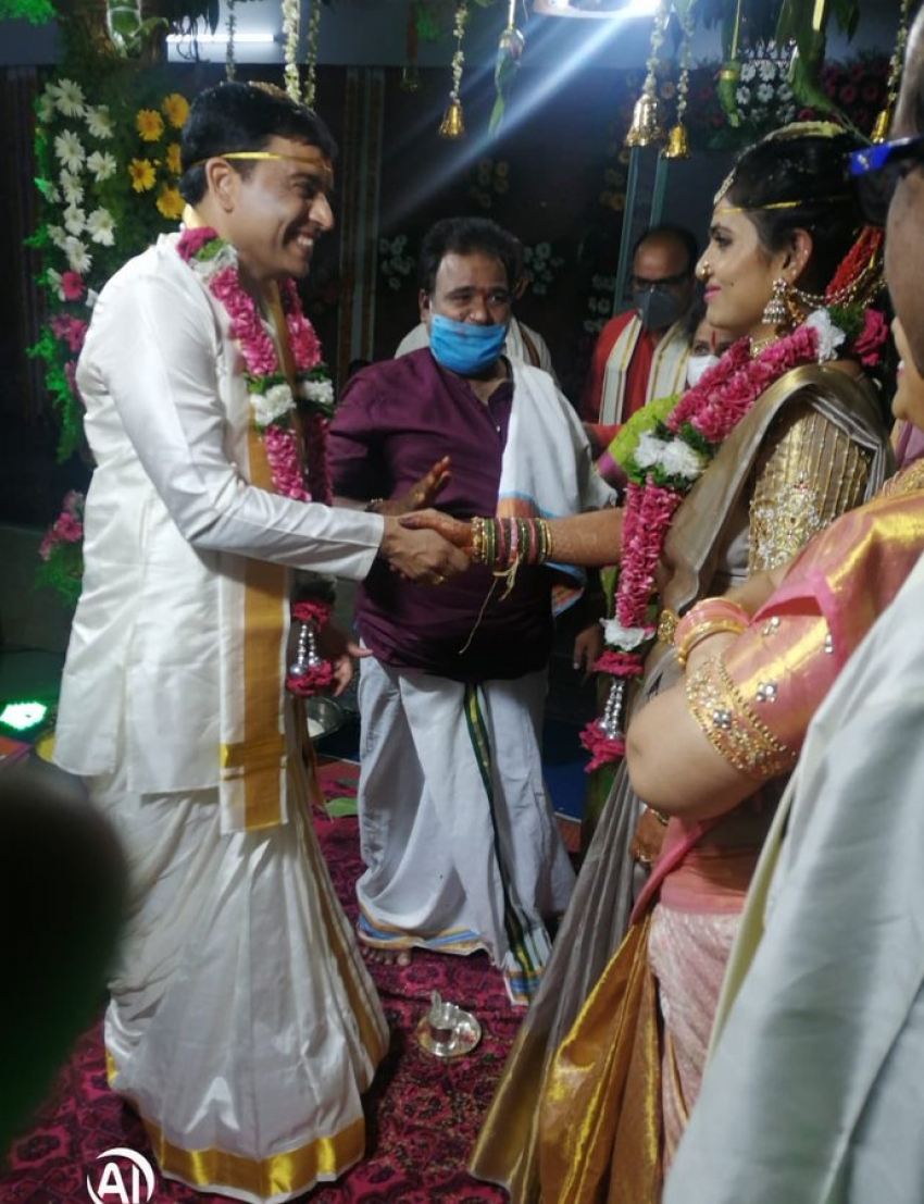 Star Producer Dil Raju marriage Photos