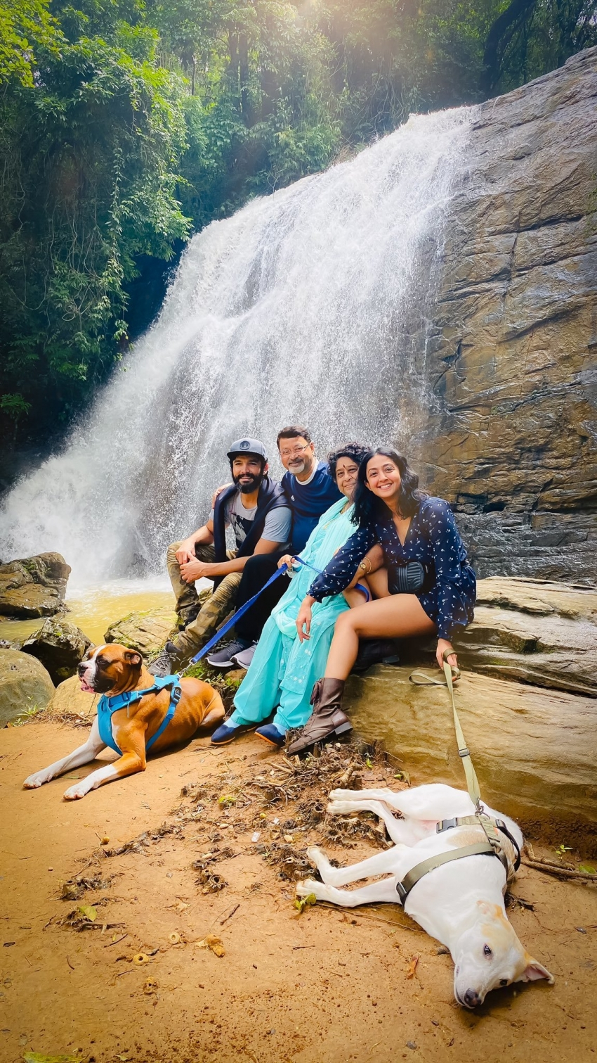 Aindrita Rai Enjoying her Coorg vacation Photos