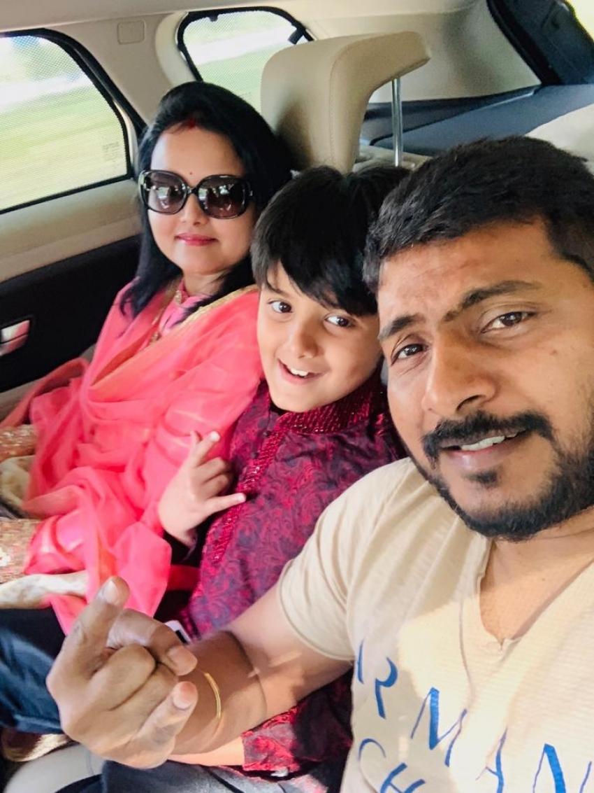Director Sampath Nandi Unseen and Family Photos