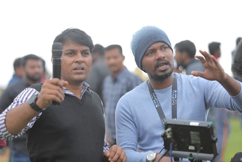 Penguin Movie Working Stills  IMAGES, GIF, ANIMATED GIF, WALLPAPER, STICKER FOR WHATSAPP & FACEBOOK