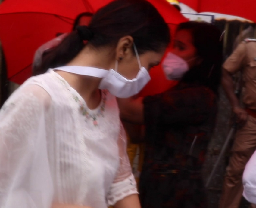 Sushant singh Rajput Funeral Photos
