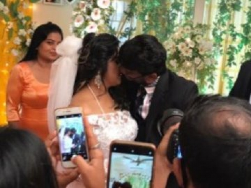 Vanitha Vijayakumar and Peter Paul Wedding Photos