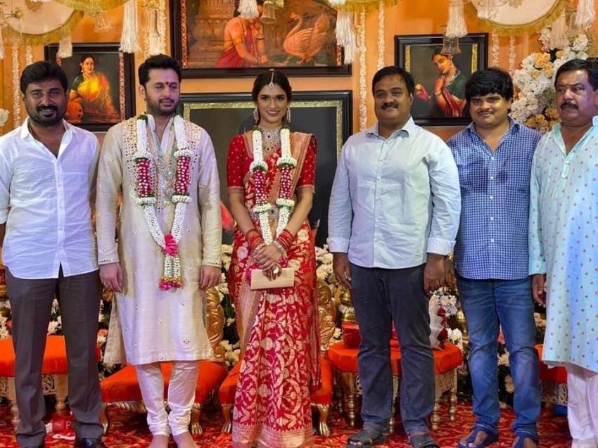 Nithiin Engagement Photos