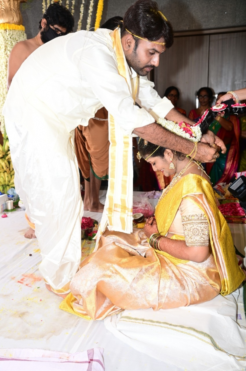 Producer Valluripally Ramesh's Son's Marriage Photos
