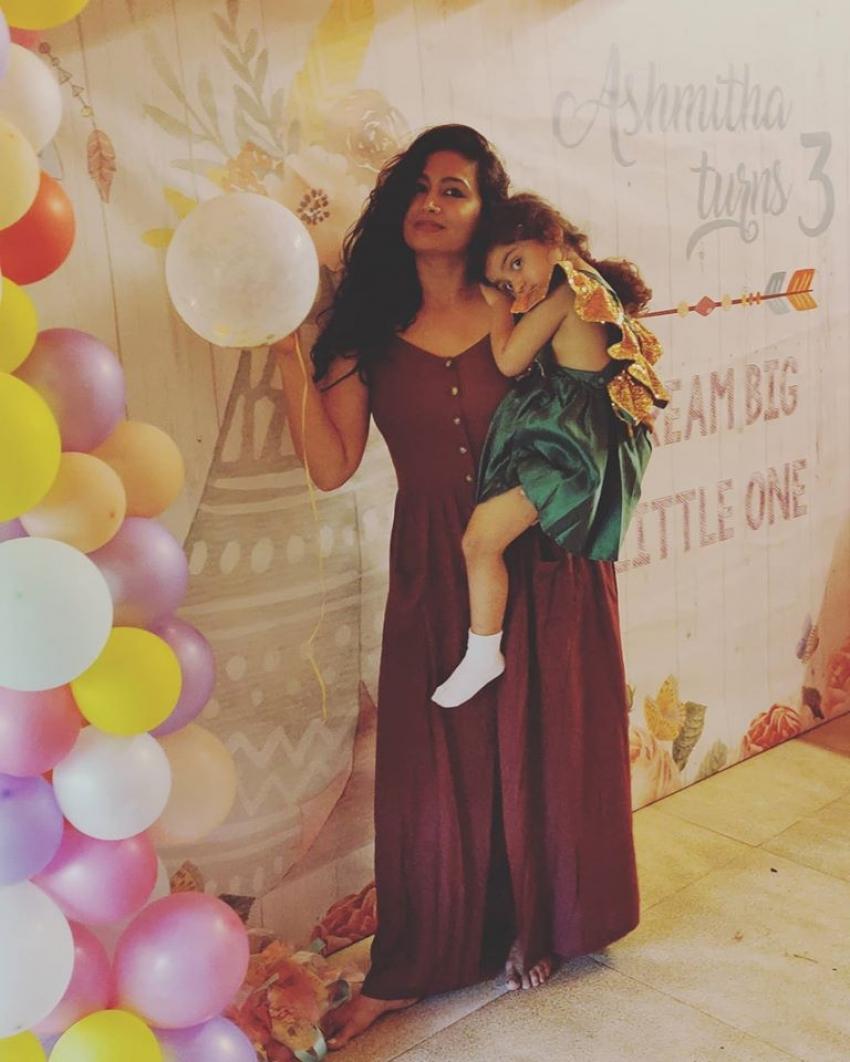 Shwetha Srivatsav Daughter 3rd Birthday Celebration Photos