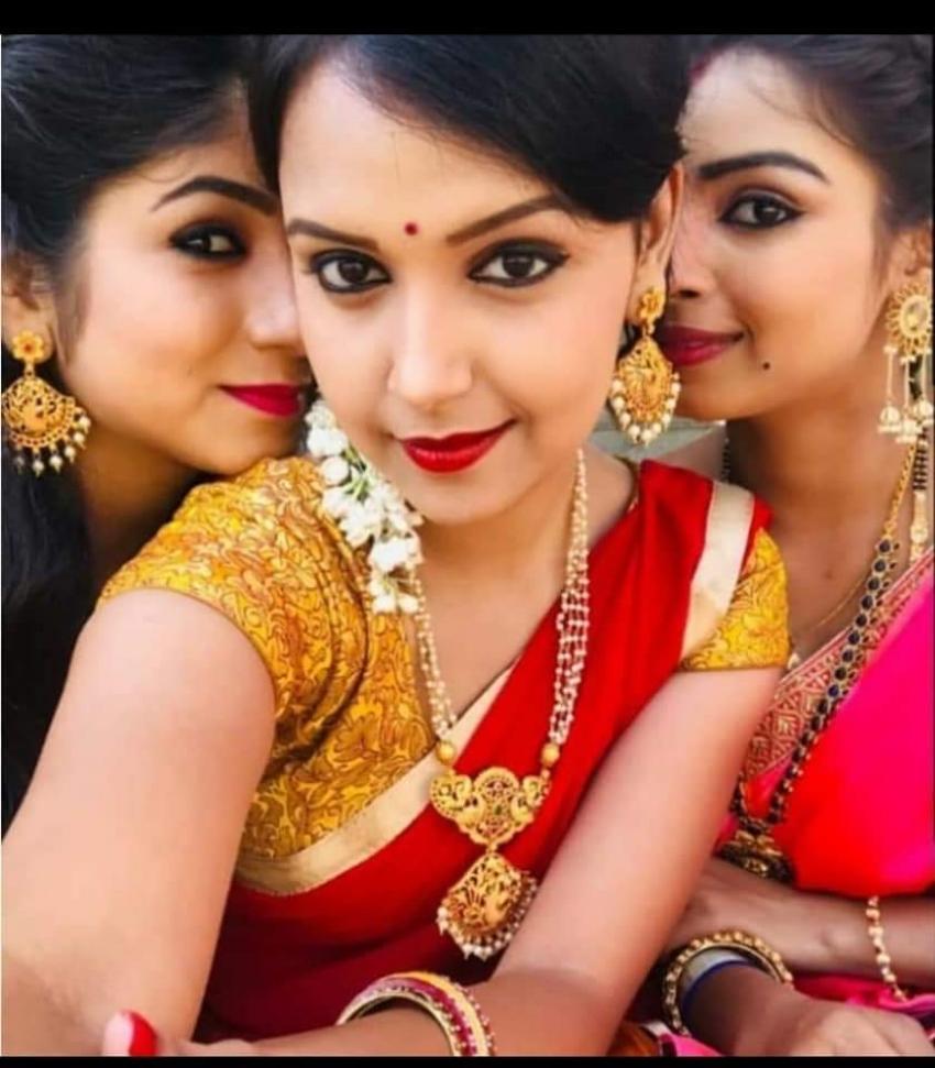 Kannada Actors Celebrate Varamahalaxmi Festival 2020 Photos