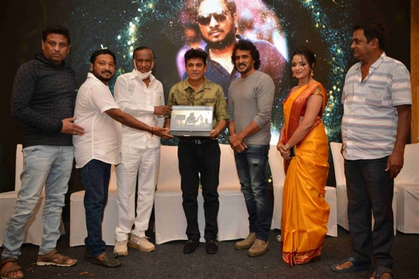 Pan India Kabza Film Website Launch Photos
