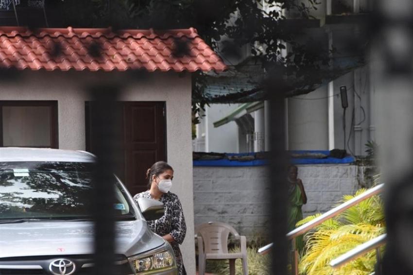 Deepika Padukone's Ex Manager Karishma Prakash at NCB Office Photos