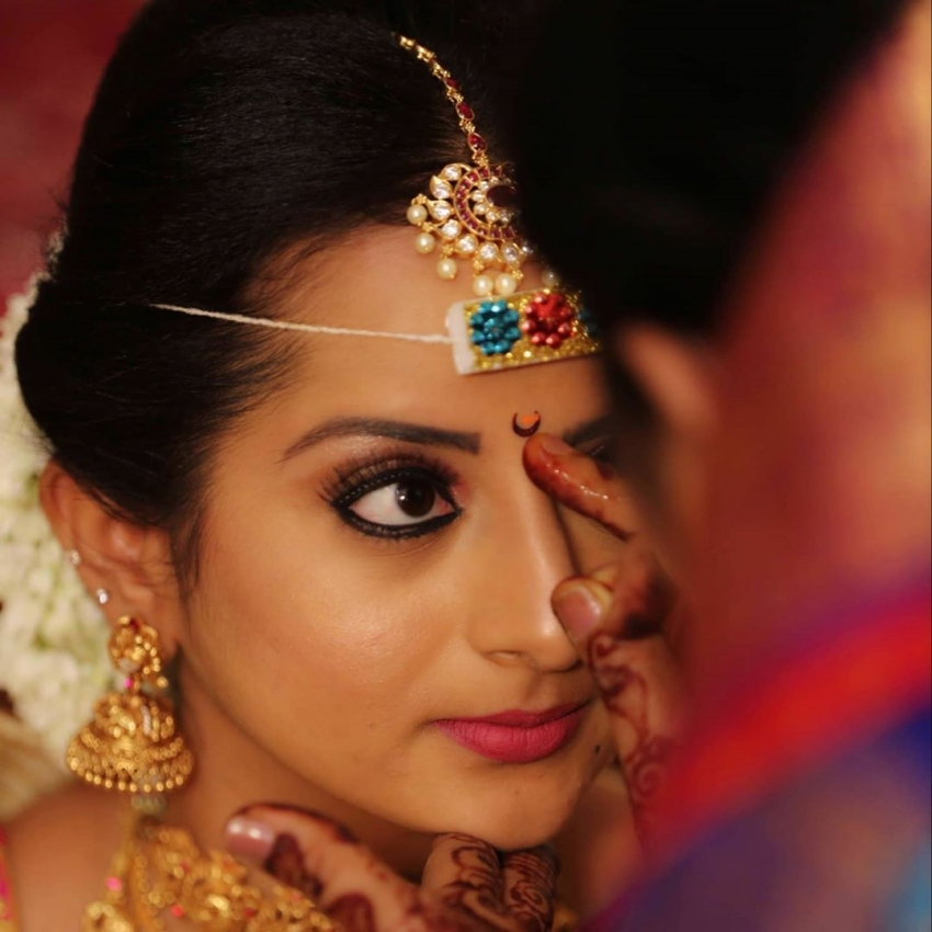 Kannada Television Actress Harshitha Venkatesh Marriage Photos
