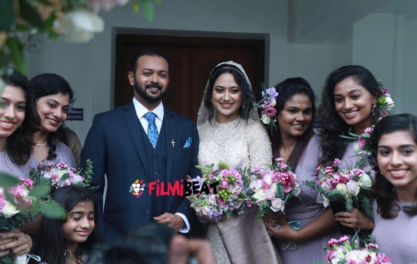 Miya George And Ashwin Philip Wedding Photos